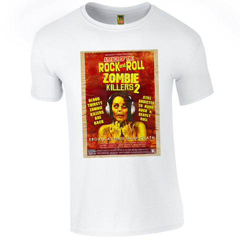 B-Movie 'Rock And Roll Zombie Killers 2'  T-Shirt