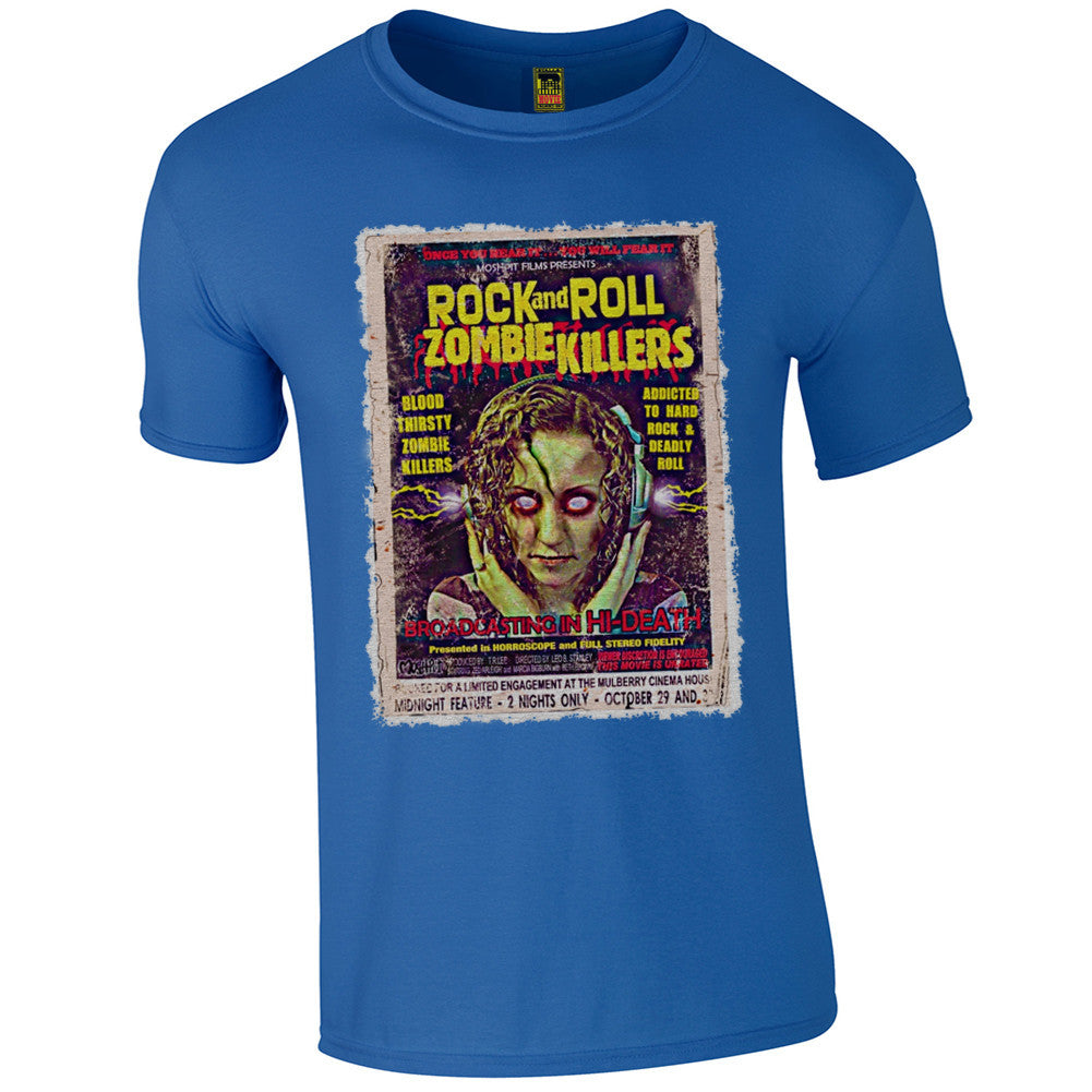 B-Movie 'Rock And Roll Zombie Killers' T-Shirt