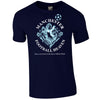 Identity Football Heaven Manchester City Supporters Iconic 90s Retro T Shirt