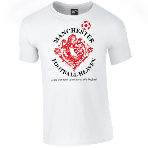 Identity Football Heaven Manchester United Fans Iconic T Shirt
