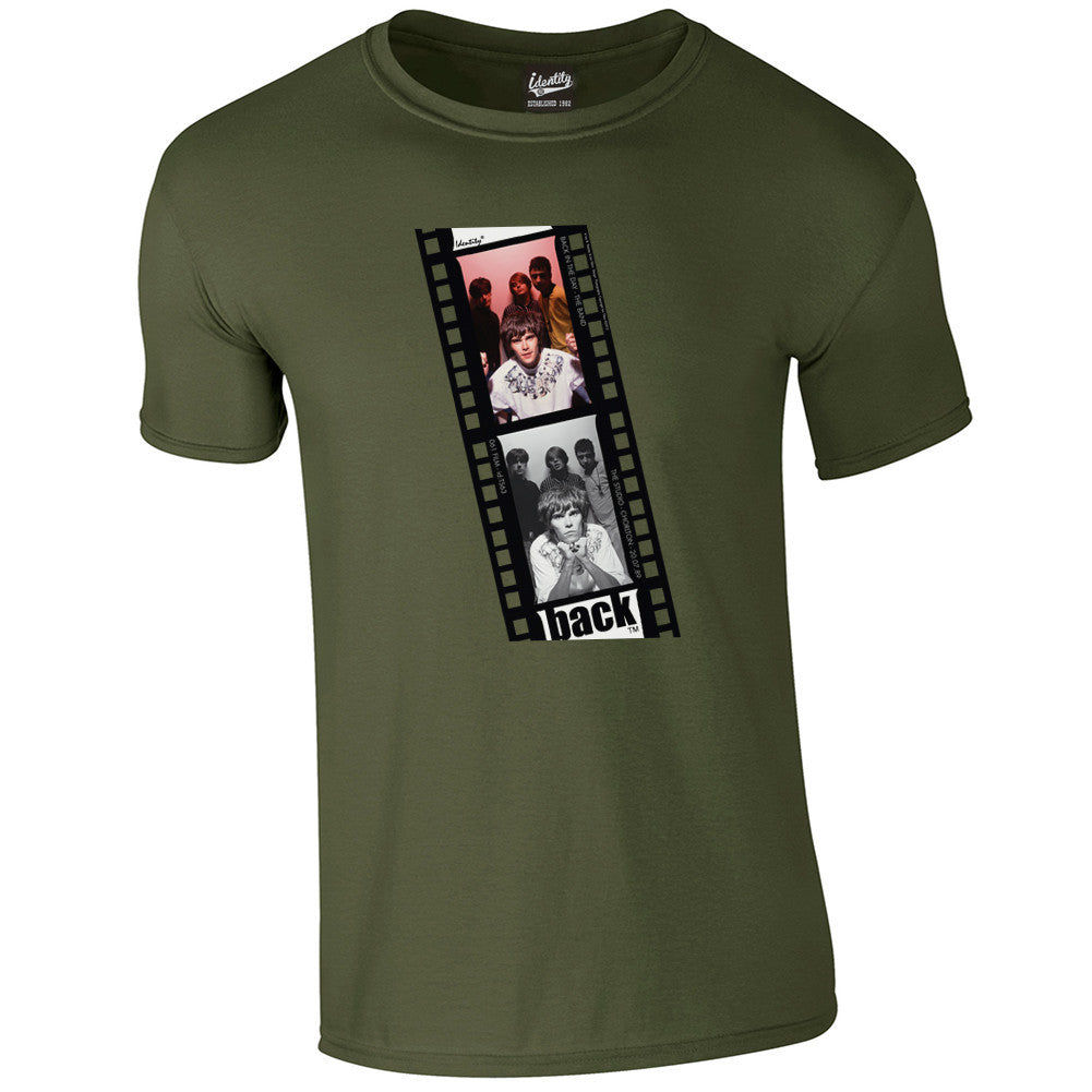 Back in the Day 'Roses Film Strip' T-Shirt
