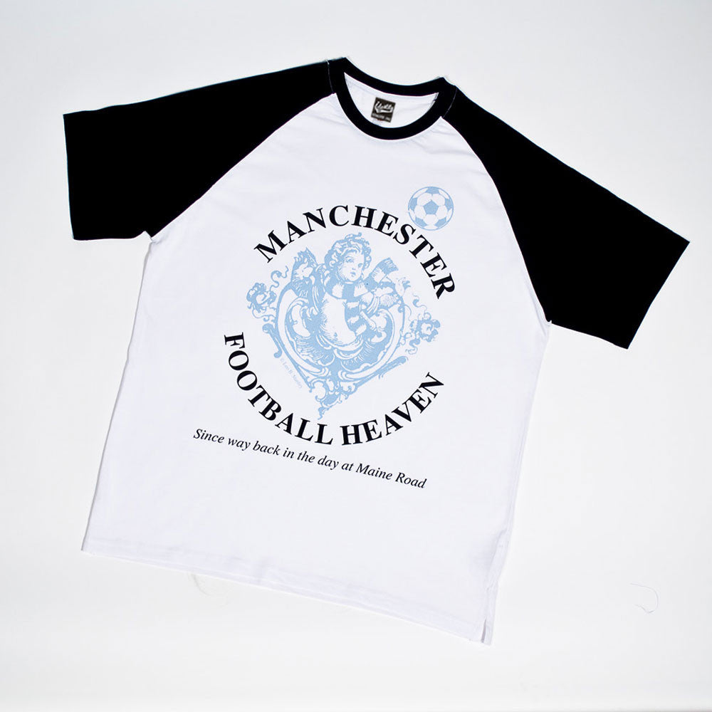 Identity Football Heaven Manchester City Supporters Baseball T Shirt