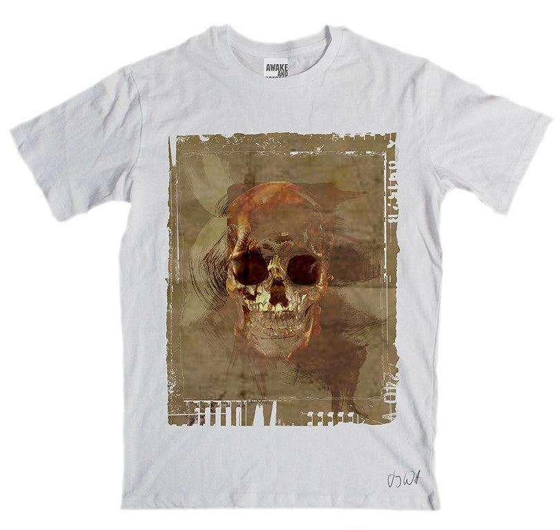 Awake and Dressed 'Earth Skull' T-Shirt
