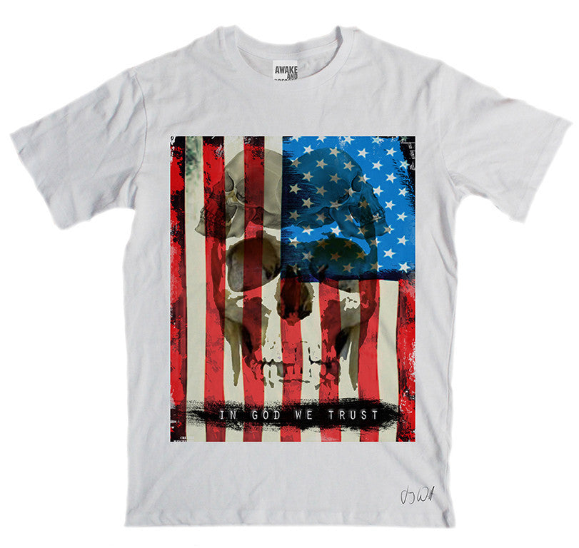Awake and Dressed 'In God We Trust' T-Shirt