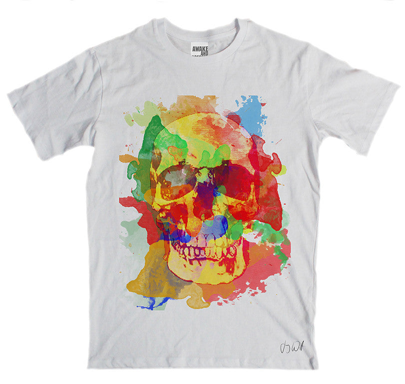 Awake and Dressed 'Painted Skull' T-Shirt