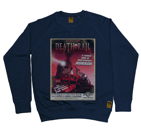 B-Movie 'Death Rail' Navy Sweatshirt