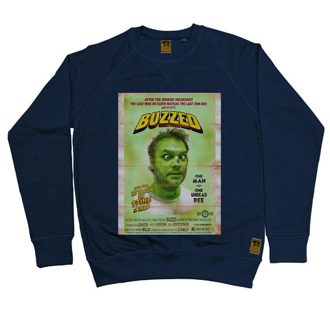 B-Movie 'Buzzed' Navy Sweatshirt