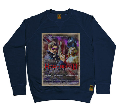 B-Movie 'Hammerhead' Navy Sweatshirt