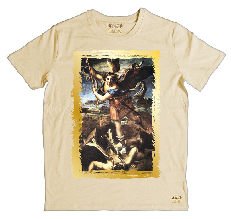 Ikons 'St. Michael Trampling The Dragon' T-shirt