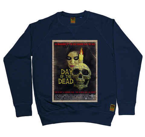 B-Movie 'Day of the Dead' Navy Sweatshirt