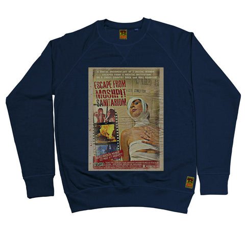B-Movie 'Escape From The Moshpit Sanitarium' Navy Sweatshirt