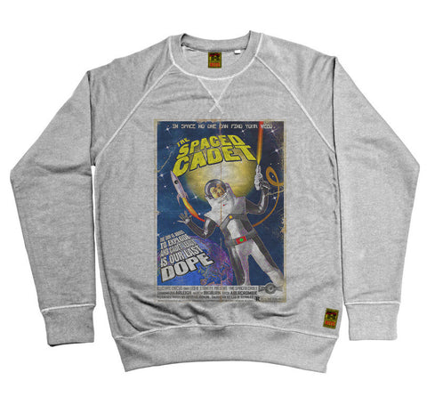 B-Movie 'The Spaced Cadet' Heather Grey Sweatshirt