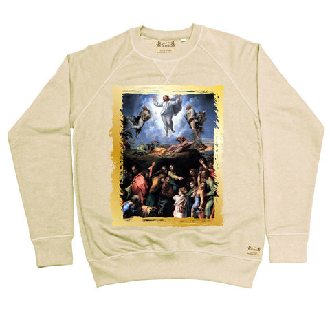 Ikons 'The Transfiguration' Vintage White Sweatshirt