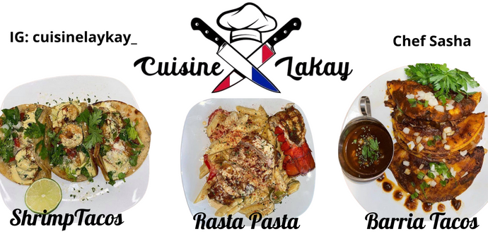 All About Chef Sasha of Cuisine Lakay, LLC