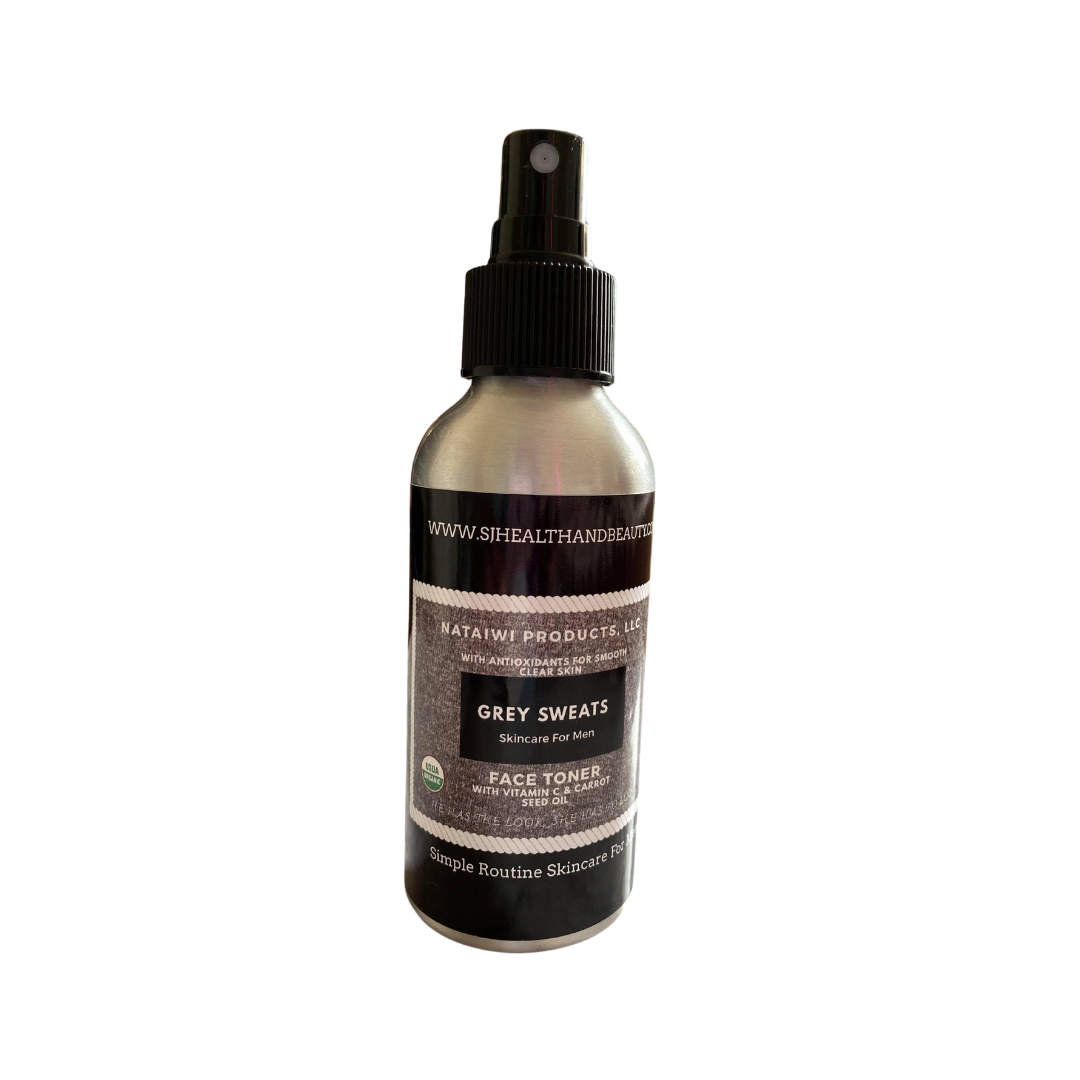 Grey Sweats Face Toner - 4oz Aluminum Can