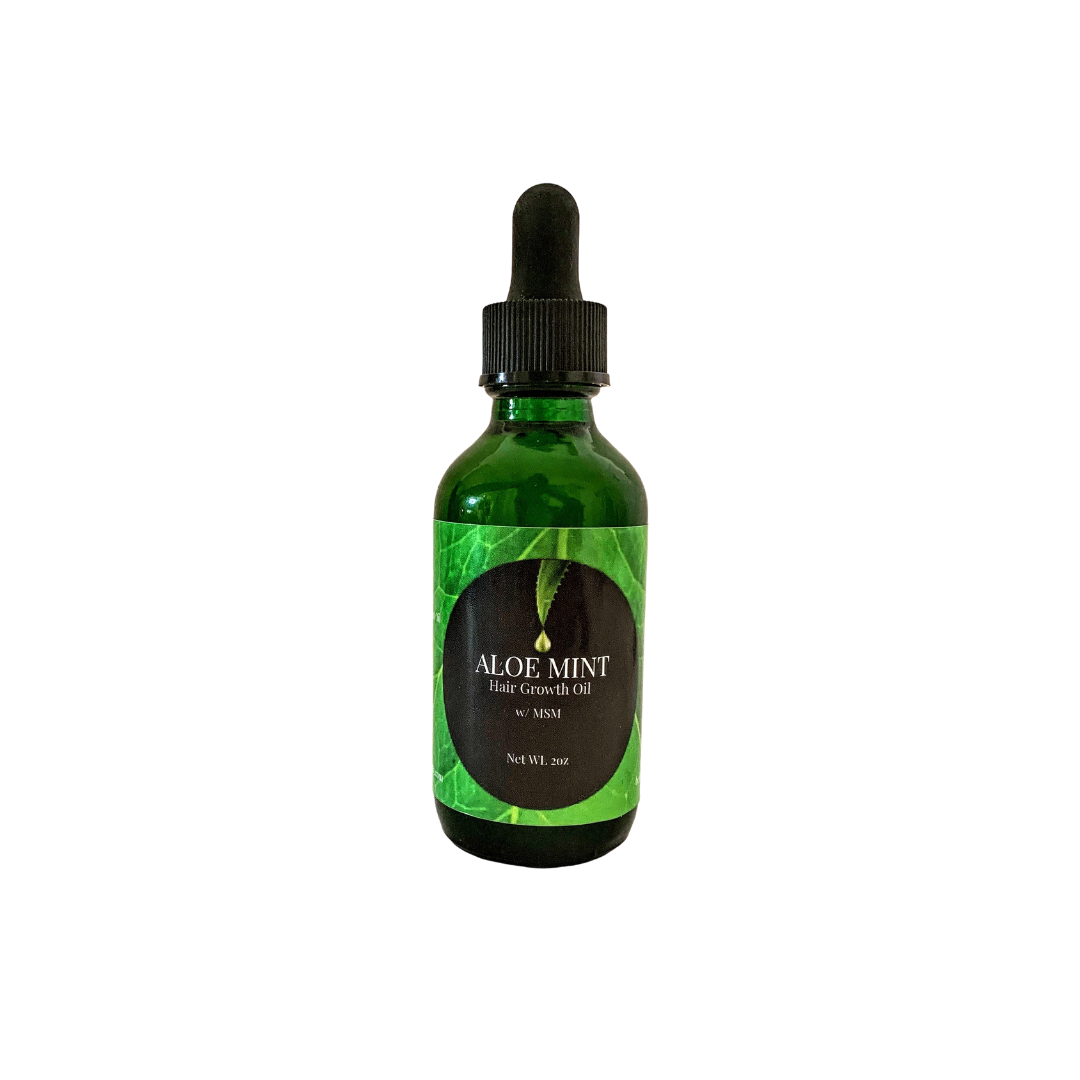 Aloe Mint Hair Growth Oil w/ MSM