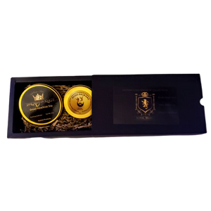 Dready or Knot & 3D Beard Balm Gold Kingdom Collection Gift Set