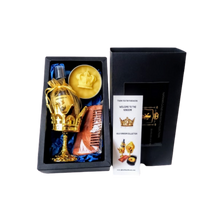Load image into Gallery viewer, 4PC Gold Kingdom Collection Beard Gift Set