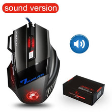 Load image into Gallery viewer, Ergonomic Wired Gaming Mouse 7 Button 5500 DPI LED USB Computer Gamer Silent Mouse With Backlight For PC Laptop