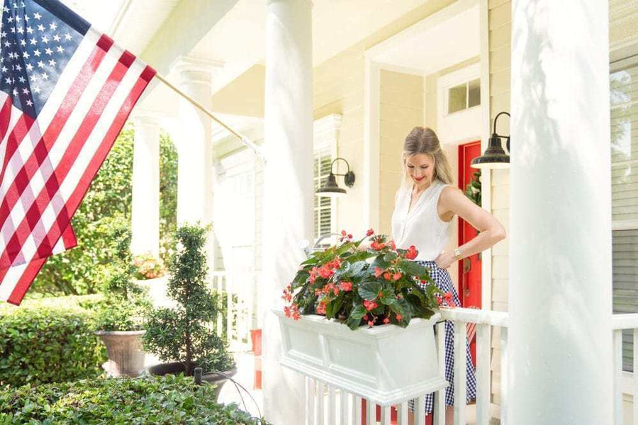 Breathtaking Porch Flower Boxes