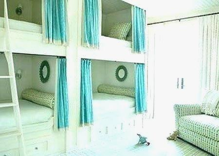 European Quad Bunk Beds