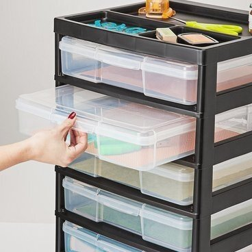 Affordable Scrapbook Paper Storage