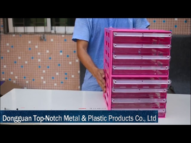 Dongguan Top-Notch Metal & Plastic Products Co.,Ltd is one of the leading plastic A4 file drawer,paper plastic drawer,office Desktop Filing Drawers & index ...
