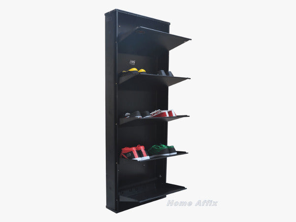 Attractive Wall Mounted Shoe Rack