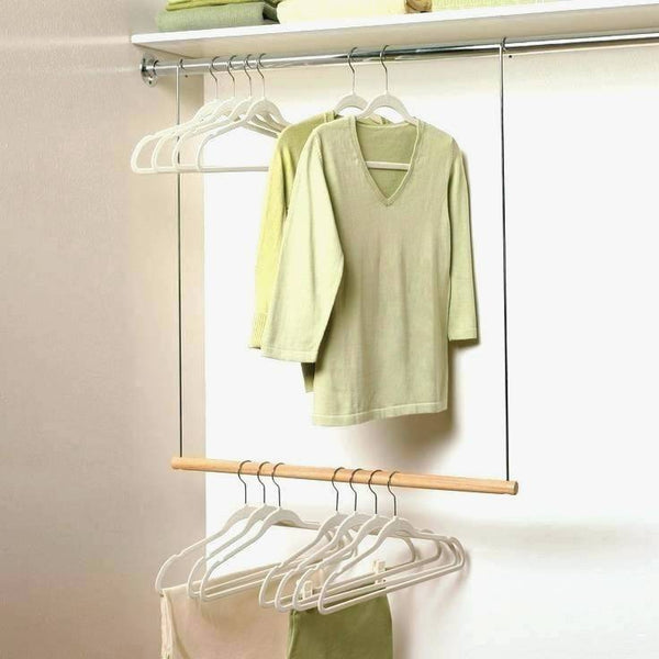 Cute Adjustable Closet Rod