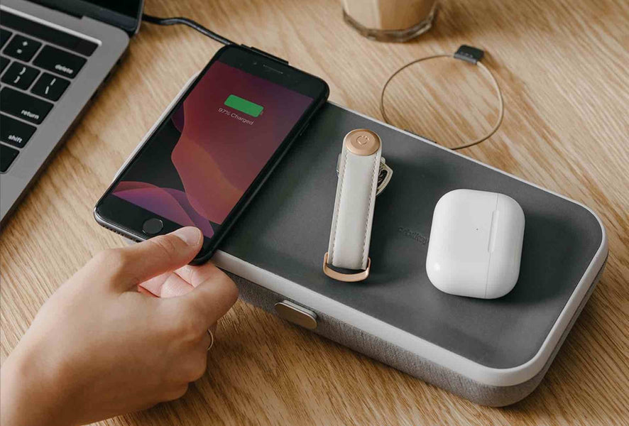 Orbitkey Nest Desk Organizer + Wireless Charger [Kickstarter]