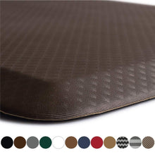 Load image into Gallery viewer, Storage kangaroo original standing mat kitchen rug anti fatigue comfort flooring phthalate free commercial grade pads waterproof ergonomic floor pad for office stand up desk 32x20 brown