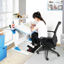 Load image into Gallery viewer, Budget uktunu computer writing desk childrens desk height adjustable kids student school study table work station with storage for home office dormitory room