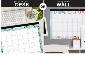 The best desk calendar 2019 large monthly pages 22x17 runs from now through december 2019 desk wall calendar can be used throughout 2019
