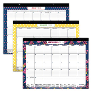 Shop here desk calendar 2019 large monthly pages 22x17 runs from now through december 2019 desk wall calendar can be used throughout 2019