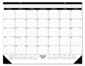 Selection 10 pack of the 1 2019 desk pad calendar 12 months january december 2019 holidays julian days great durable quality beautiful ruled for your memos 17 x 22 inches