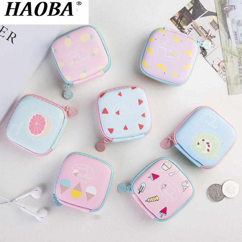 HAOBA 1PCS Earphone Bag Case Storage Carrying Hard Box Headphone Stand For Headset Earbuds Memory
