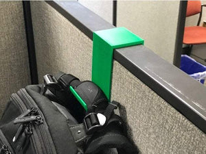 Cubicle Backpack Hook / Cubicle Organization / office organizer / office decoration