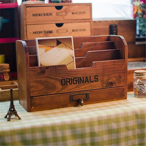 Multi Function Vintage Style Storage Box
