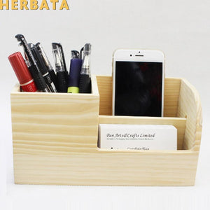 Wooden Office Organizer