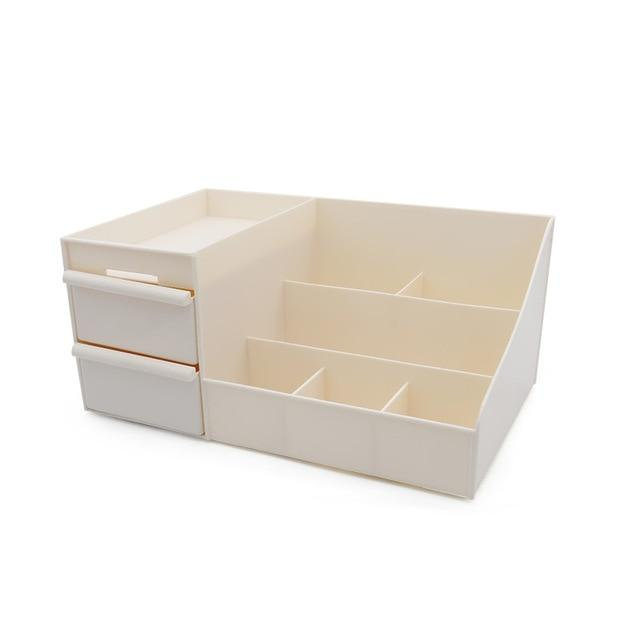 Cosmetic Storage Box Drawer Desktopplastic Makeup Container
