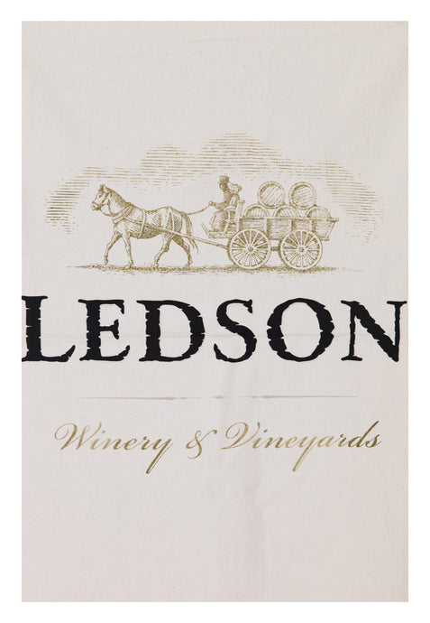 Ledson Winery & Vineyards Flour Sack Towel