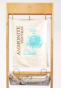 Ammonite Vouvray Flour Sack Towel