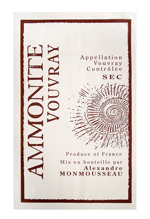 Ammonite Vouvray Canvas Towel