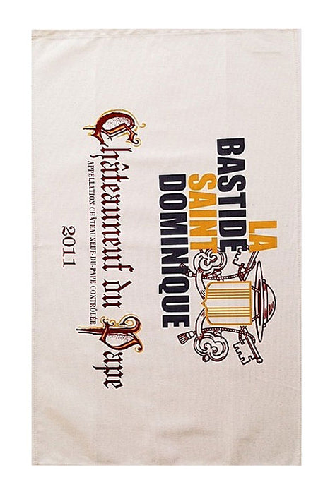 Chateauneuf du Pape Canvas Towel
