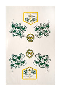Domaine Georges Brunet Vouvray Canvas Towel