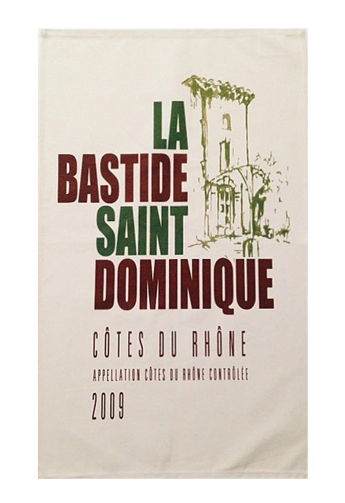 La Bastide Saint Dominique Canvas Towel