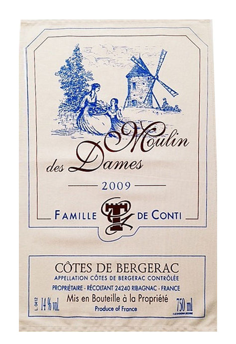 Moulin Des Dames Canvas Towel