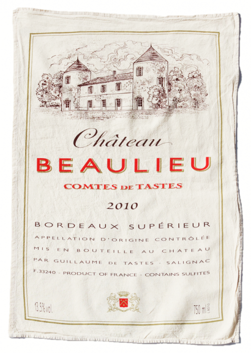Chateau Beaulieu Flour Sack Towel