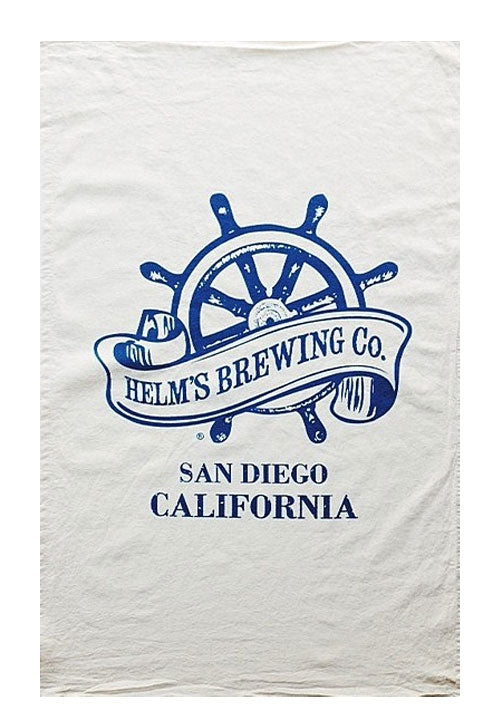 Helms Brewing Company Flour Sack Towel