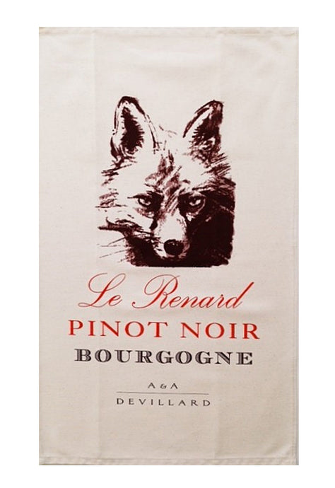Le Renard Canvas Towel